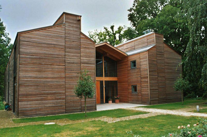 Moderne architektur hermann bade d cher bad bevensen for Moderne architektur wohnhaus